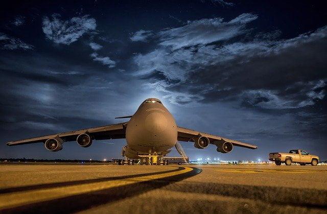 Transportation via Cargo Flight